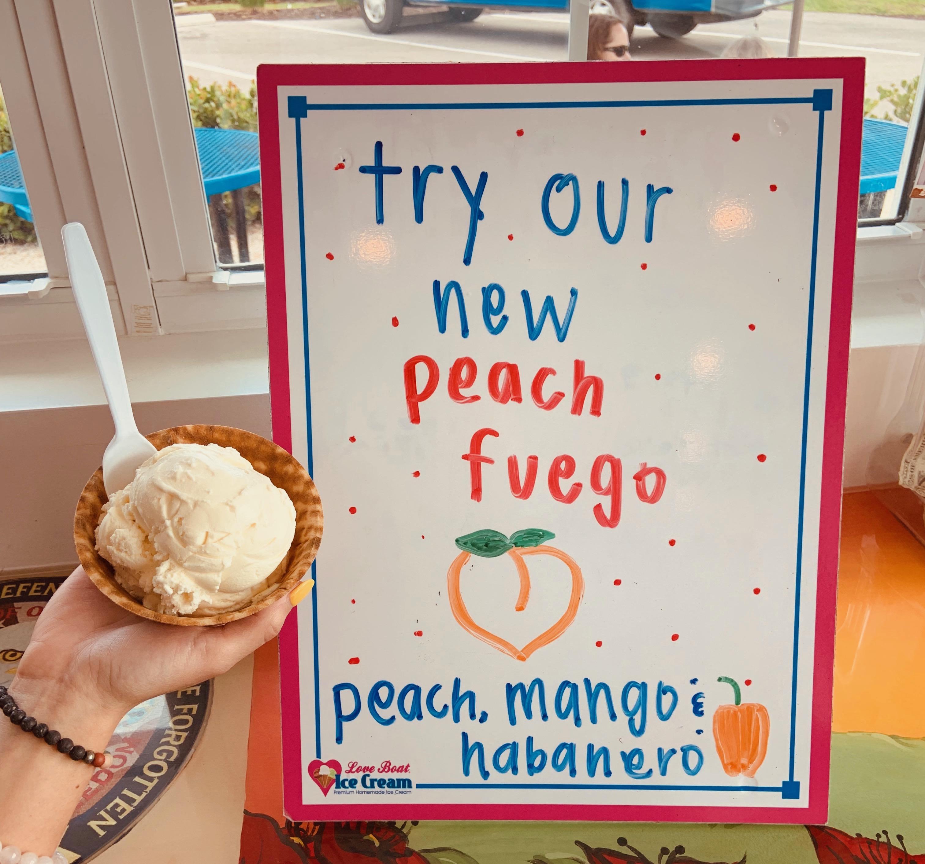 Love Boat Ice Cream Florida